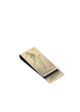 30# PINUP GIRL MONEY CLIP