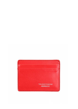 235#  X CARD WALLET-RED